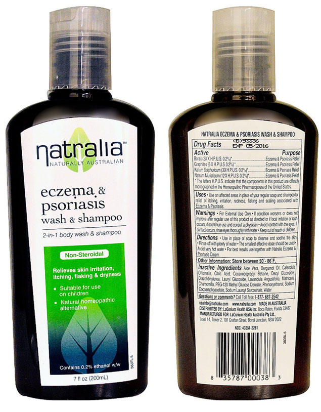 Shop for Natralia Natralia Eczema & Psoriasis Wash & Shampoo 7 fl oz Liquid 2
